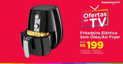 Fritadeira Elétrica Sem Óleo/Air Fryer Fama – Air Fry Preta 2,9L com Timer