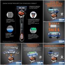 Compre 5 e ganhe*Frete Grátis quase todo*#Magazine Aparelho De Barbear Gillette Fusion – Proglide Flexball