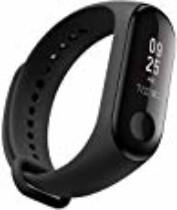 Relógio Inteligente Xiaomi Mi Band 3 Original Smart Watch Com Leitor de Batimento Cardíaco – A prova de Aguá – OLED Display – IOS e Android