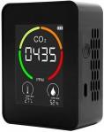 20% off Detector de CO2 portátil interno multifuncional Termohigrômetro