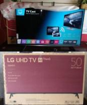 """4k com Reconhecimento de VOZ ! . Smart TV 4K LED 50"""" LG 50UK6520 Wi-Fi HDR – Inteligência Artificial Conversor Digital 4 HDMI"""