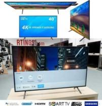 Smart TV LED 40″ Samsung Ultra HD 4k 40NU7100 com Conversor Digital 3 HDMI 2 USB Wi-Fi HDR Premium Smart Tizen