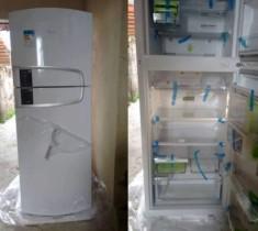 FRETE GRÁTIS ! 🇧🇷  Geladeira/Refrigerador Consul Frost Free Duplex – 437L Bem Estar CRM55ABANA Branco