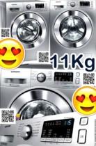 Washer #FRETEGRÁTIS Lava e Seca Samsung 11Kg Prata WD4000 – WD11M44530S/AZ 12 Programas de Lavagem