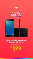 "Smartphone Samsung Galaxy J2 Core 16GB Preto – 4G 1GB RAM Tela 5"" Câm. 8MP + Câm. Selfie 5MP"