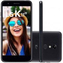 "Smartphone LG K11 Alpha 16GB Dual Chip Tela 5.3"" Câmera 8MP Frontal 5MP Android 7.1 Preto"