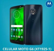 Smartphone, Motorola, Moto G6, XT1925, 32 GB, 5.7″, Indigo