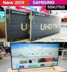 "– Smart TV 4K LED 55"" Samsung UN55RU7100GXZD – Wi-Fi Conversor Digital 3 HDMI 2 USB"