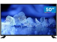 "Smart TV 4K DLED 50"" Cobia Wi-Fi – Conversor Digital 3 HDMI 2 USB"