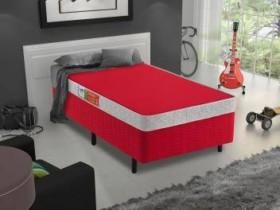 Box para Colchão Solteiro Celuplás 29cm de Altura – Color Block Box Color