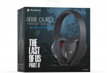 Headset Sem Fio Série Ouro – Ed The Last of Us II – Playstation 4