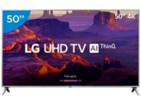 Smart TV 50″ 4K com comando de voz