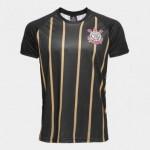 Camisa Corinthians Gold nº10 – Edição Limitada Masculina – Spr Preto+Dourado – M