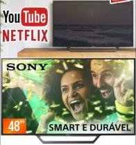 Smart TV LED 48″ Sony Full HD KDL-48W655D – Conversor Digital Wi-Fi 2 HDMI 2 USB DLNA Bivolt