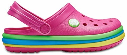 Crocband Rainbow Clog Kids