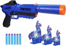 Lanca Dardos Nerf Fortnite Sp R – E8876 – Hasbro Nerf Lanca Dardos Nerf Fortnite Sp R Azul