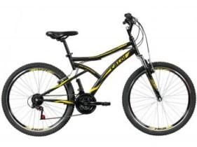 Bicicleta Caloi Andes Aro 26 21 Marchas – Suspensão Dianteira Freio V-brake