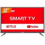 Smart TV LED 32″ HD Semp S3900FS HDMI USB Wi-Fi Conversor Digital
