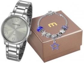 Relógio Feminino Mondaine Analógico 53736L0MGNE5 – Com Pulseira