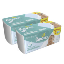 Kit de Lenços Umedecidos Pampers Fresh Clean – 192 Unidades