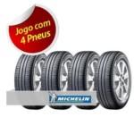 Kit Pneu Aro 15 Michelin 195/60r15 Energy Xm2 Tl 88h 4 Unidades