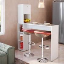 Bancada Gourmet II para Cozinha com Nichos – Branco – San marino (cód. 719639700)