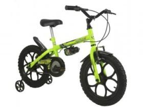 Bicicleta Infantil Track Bikes Dino Neon Aro 16 – Freio V-Brake (cód. 204830700)