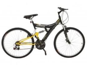 Bicicleta Track Bikes TB-100XS/PA Aro 26 – 18 Marchas Suspensão Central Quadro de Aço (cód. 161840000)