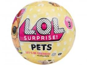 Boneca LOL Surprise! Série 3 Pets – com Acessórios Candide (cód. 180608300)