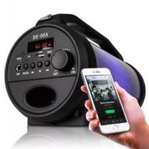 Caixa De Som Bluetooth Canhão Portátil Mp3 Fm Usb Preto – Briwax (cód. 564690000)