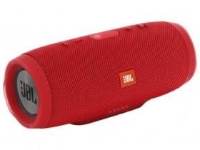 Caixa de Som Portátil Bluetooth JBL Charge 3 USB – à Prova Dágua 20W Vermelho (cód. 217110900)