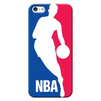 Capinha de Celular NBA – Iphone 5C – Logo Man – Azul e Vermelho Ref.:N27-0032-066-01