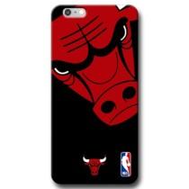 Capinha de Celular NBA – Iphone 6 Plus 6S Plus – Chicago Bulls – Preto e Vermelho Ref.:N27-0102-002-01