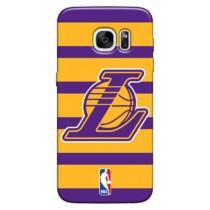 Capinha de Celular NBA Los Angeles Lakers – Samsung Galaxy S6 – Roxo e Amarelo Ref.:N27-0360-923-01