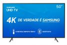 Smart TV LED 50″ Samsung 50RU7100 Ultra HD 4K com Conversor Digital 3 HDMI 2 USB Wi-Fi Visual Livre de Cabos Controle Remoto Único e Bluetooth