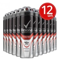 Desodorante Aerosol Rexona Men Antibacterial 90g/150ml Leve 12 Pague 8 (cód. hb39b55cg7)