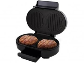 Grill Britânia Gourmet Burger 1000W – Coletor de Gordura 110V (cód. 218917000)