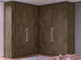 Guarda-roupa Casal MDF 4 Portas 4 Gavetas – Europa Viena (cód. 217938200)