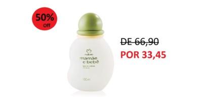 Água de Colônia Sem Álcool Mamãe e Bebê – 100ml
