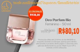 Deo Parfum Ilía Feminino – 50 ml