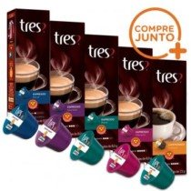 Kit Cápsulas Três Corações Espressos – 50 Cápsulas (cód. 584767800)