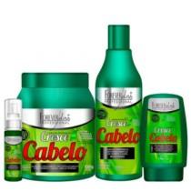 Kit Cresce Cabelo Forever Liss Shampoo 500ml, Máscara 1Kg, Leave-in Fitoterápico 140g e Tônico 60ml (cód. 763588900)