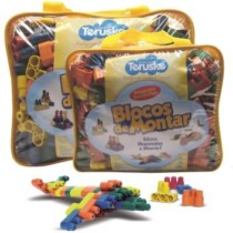 Lego De Montar Plugando Brinquedo Pedagógico 250 Peças – Lymdecor (cód. 684906800)