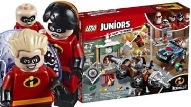 Lego Juniors Os Incríveis 2 O Homem Da Mina Assalta O Banco 10760 (cód. 589300900)