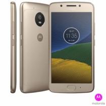 """Moto G5 Ouro Motorola com Tela de 5"""", 4G, 32 GB e Câmera de 13 MP – XT1672"""