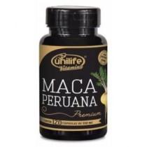 Maca Peruana Premium 120 cápsulas Unilife (cód. 632154700)