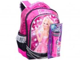 Mochila Infantil Escolar Tam. M Sestini Barbie – Rock In Royals com Microfone (cód. 221532700)