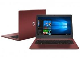 "Notebook Positivo Stilo Colors XC3634 – Intel Dual Core 4GB SSD 32GB Windows 10 LED 14"" (cód. 216985200)"