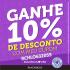 Cupom 10% de desconto + frete grátis