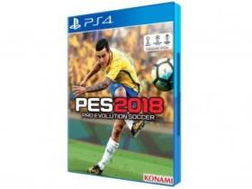 PES 2018 para PS4 – Konami PS4 (cód. 043177600)